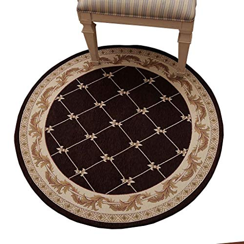 Best Price CarPet Living Room Round Can Be Machine Washed\Multi-Size\for Study Office Chair (Color :...
