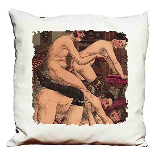 cojín decorativo erotic Scene 5 – Set