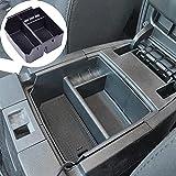 EDBETOS Center Console Organizer Tray Compatible with 2011-2018 Jeep Wrangler JK/JKU Rubicon Sport Sahara Accessories Armrest Storage Glove Box