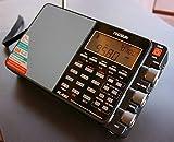 TECSUN PL-880 黒 FM/MW/SW/LW/PLL BCL 短波ラジオ 日本語版説明書付属