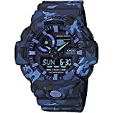 Best Gshock Watches - Casio GA700CM-2A G-Shock Men's Watch Blue Camo 53.4mm Review