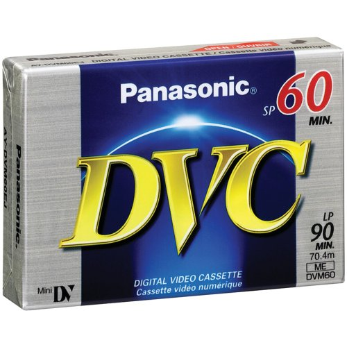 Best Review Of PANASONIC AY-DVM60EJ Mini Digital Video Cassette (60 min) Consumer electronic