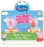 IMC Toys 360082PP - Peppa Pig Badefiguren 2 Stück, farblich sortiert