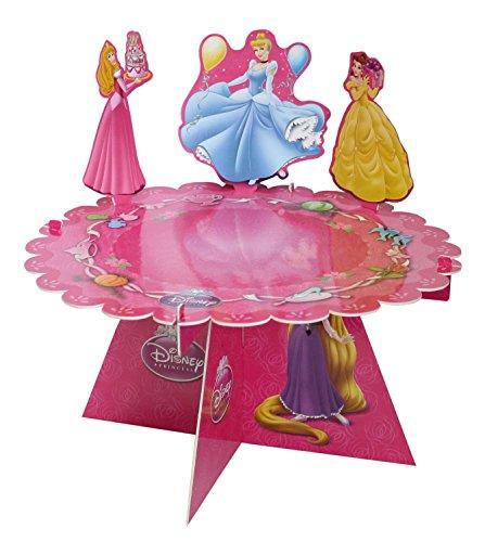 Procos 81117 Cupcake Ständer Disney Princess, 1 Etage