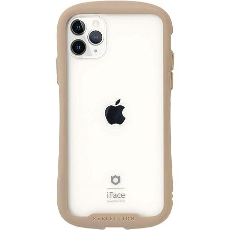 iFace Reflection iPhone 11 Pro ケース クリア 強化ガラス [ベージュ]