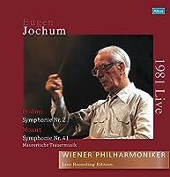 ヨッフム / ウィーン・フィル 1981年 カール・ベーム追悼演奏会 (Brahms : Symphonie Nr.2 | Mozart : Symphonie Nr.41, Maurerische Trauermusik / Eugen Jochum | Wiener Philharmoniker) (Live Recording Edition ~ 1981 Live) [2LP] [日本語帯・解説付] [Limited Edition] [Analog]