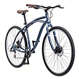 Schwinn Men's World Classic Urban Hybrid 700C Wheel Bicycle, Blue, 19'/Large