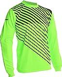 Vizari Arroyo Goal Keeper Jersey, Neon Green/Black, Youth X-Large