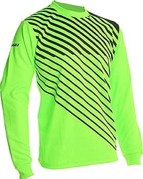 Vizari Arroyo Goalkeeper Jersey Neon Green/Black Size Youth Large