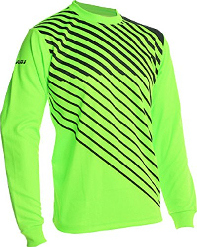 Vizari 60042 Arroyo Goalkeeper Jersey, Neon Green/Black, Size Youth Large
