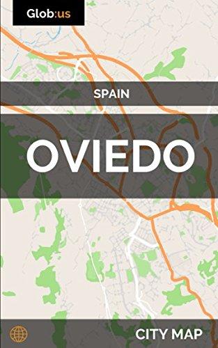 Oviedo, Spain - City Map [Idioma Inglés]