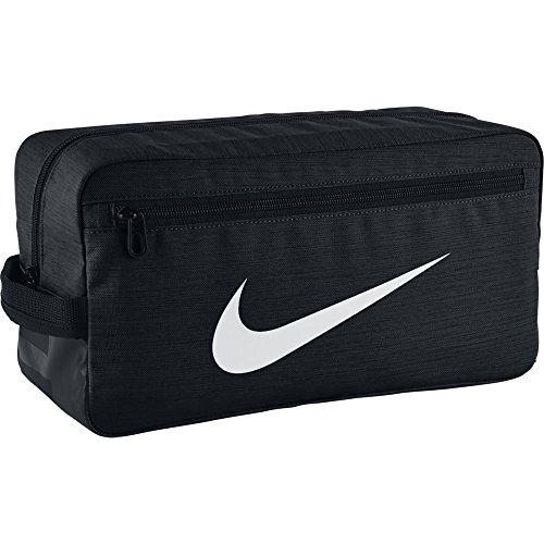 Nike Schuhtasche Brasilia Training, Black/Black/White, 34 x 18 x 15 cm, BA5339-010