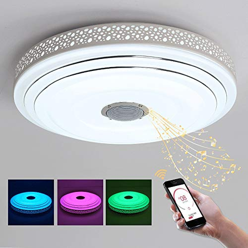 ZXT 24W/36W Intelligent Wireless Control LED kroonluchter met Bluetooth en muziek Lights A110V 220V acryl LED Chandelier Lighting kinderkamer Kleurrijke Bubble Round verlichting