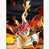 ZXXGA 5D Diamante Pittura Completa Kit di Trapani per Adulti_Anime del Fumetto Giapponese 40x50cm_Cristallo Strass Immagine Arti del mestiere per la Decorazione della Parete di casa