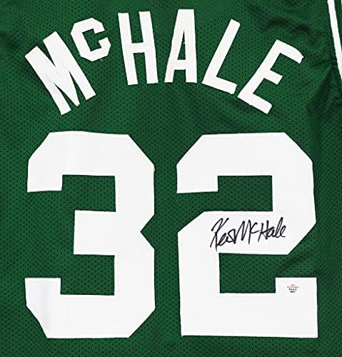 Kevin McHale Boston Celtics Signed Autographed Green #32 Custom Jersey PAAS COA