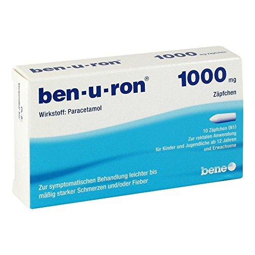 ben-u-ron 1000 mg Zäpfchen, 10 St. Zäpfchen