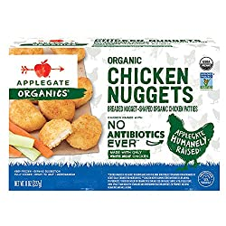 Applegate, Organic Chicken Nuggets, 8oz (Frozen)
