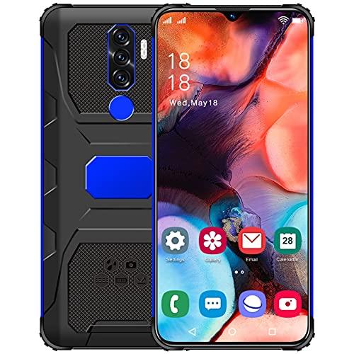 N1 Free Mobile 5G Android 11 GO con 7.0in HD + Pantalla de Gota de Agua, cámara Trasera Triple 50MP, teléfono móvil 4GB + 64GB (SD 128GB), batería 6800mAh Smartphone Free, Face ID/GPS/versión GL