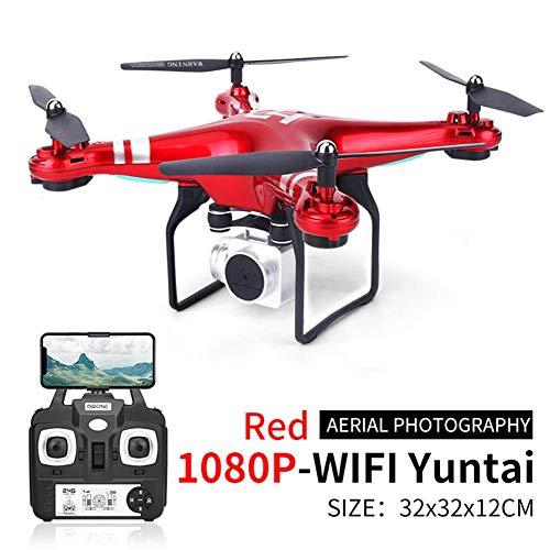 iBoosila Drohne mit 720P / 1080P Kamera HD Live Übertragung, GPS Heimkehr, Follow Me, rc Quadrocopter ferngesteuert mit bürstenlosem Motor, WiFi kompatibel für GoPro, Anfänger und Experte