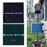 Panel solar único, 58 x 58 mm con polisilicon 0.45W 2V para...