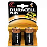 Duracell - Blister 2unidades batería media linterna c