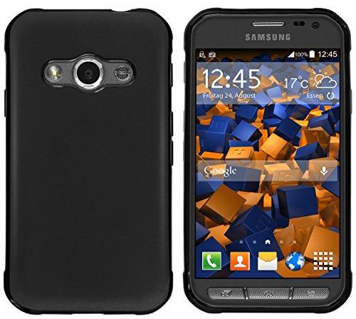 mumbi Custodia compatibile con Samsung Galaxy Xcover 3, nero