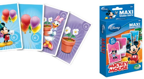 Modiano- Uomo Nero Mickey & Friends Disney Giochi Bambino, 308565