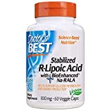Doctor's Best, Stabilized R-Lipoic Acid, with BioEnhanced Na-RALA, 100 mg, 60 vegetarian Capsules
