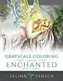 Enchanted Magical Forests - Grayscale Coloring Edition: 3 (Grayscale Coloring Books by Selina)