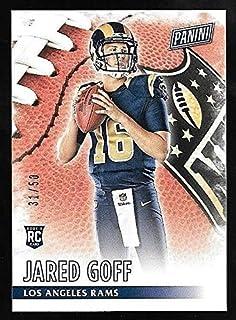 2016 Panini Knight School #1 Jared Goff Los Angeles Rams Rookie Football Card Verzamelkaarten: sport Amerikaans voetbal
