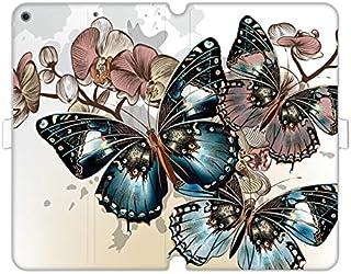 Etui na Apple iPad 10.2 (2021) - etui na tablet Wallet Book Fantastic - piękne motyle - pokrowiec książkowy case obudowa w...