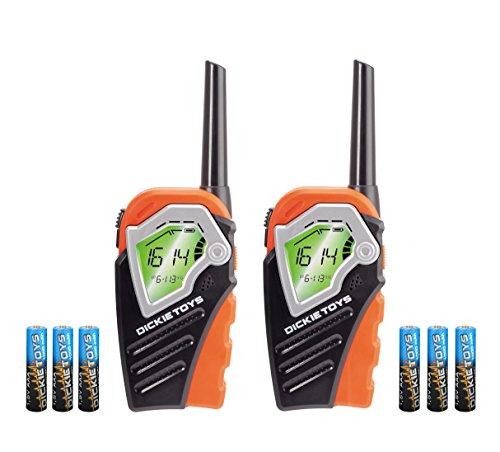 Dickie Toys 201118185 - Walkie Talkie Voice Changer, Walkie Talkie mit Stimmverzerrung und 150 Meter Reichweite