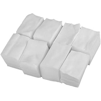 Lumanuby - Lote de 900 toallitas cuadradas desechables para manicura, celulosa de algodón: Amazon.es: Hogar
