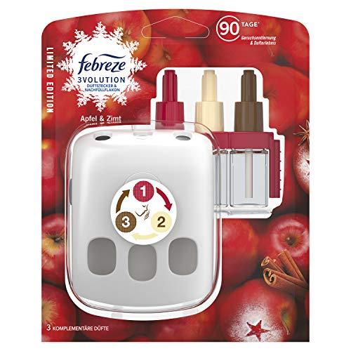 Febreze Febreze 3Volution Duftstecker Starterkit Apfel-Zimt 1er Pack, 20 ml