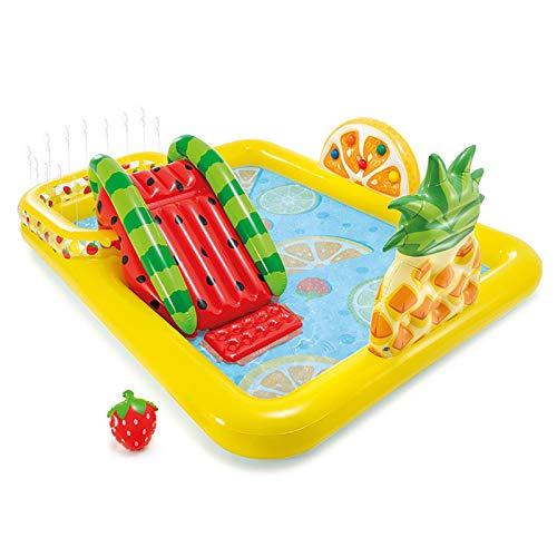 WQJJ Piscina para niños, Piscina Inflable con Sabor a Fruta, para niños Mayores de Dos años