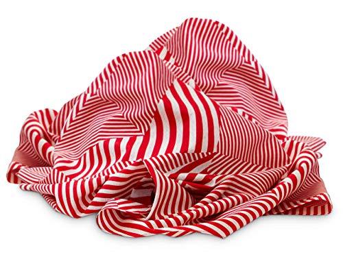 Maruwa Schöner Schal und originelle Tasche. Kreative Geschenk-Verpackung. Furoshiki Sutorippu, original Japanisches Tuch