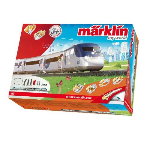 Märklin 29204 - Startpackung Amerikanischer Hochgeschwindigkeitszug mit Batterieantrieb und Magnetkupplungen