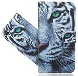 Asus Zenfone Live (L1) ZA550KL Handy Tasche, FoneExpert® Wallet Hülle Flip Cover Hüllen Etui Hülle Ledertasche Lederhülle Schutzhülle Für Asus Zenfone Live (L1) ZA550KL