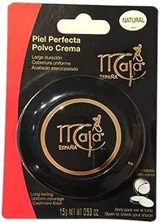 Maja Cream Powder Natural By Myrurgia - 0.5 Oz