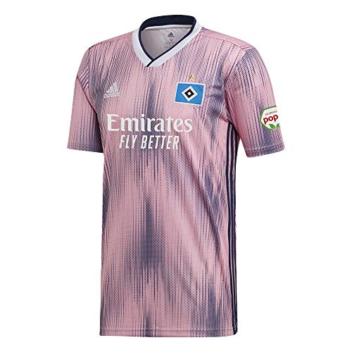 adidas Performance Hamburger SV Trikot Away 2019/2020 Kinder rosa/dunkelblau, 152