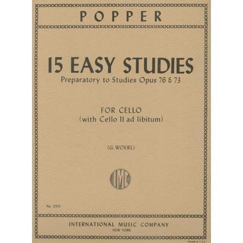 Popper, David - 15 Easy Studies ...
