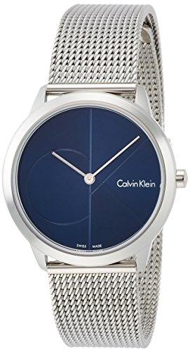 Calvin Klein Reloj Analogico para Mujer de Cuarzo con Correa en Acero Inoxidable K3M2212N