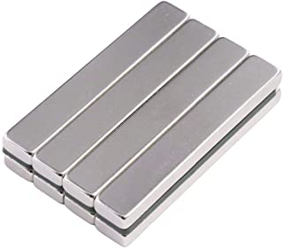 MAGNETICKS 10 Pieces of 50mm x 10mm x 5mm House-Hold & Industrial Magnet