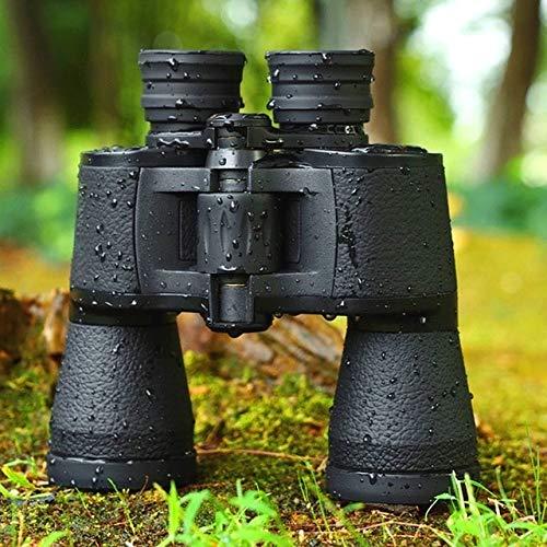 Yqs Teleskop Leistungsstarke professionelle Ferngläser Baigish 20X50 Militär Teleskop-Nachtsicht High Power Zoom for die Jagd (Color : Black)