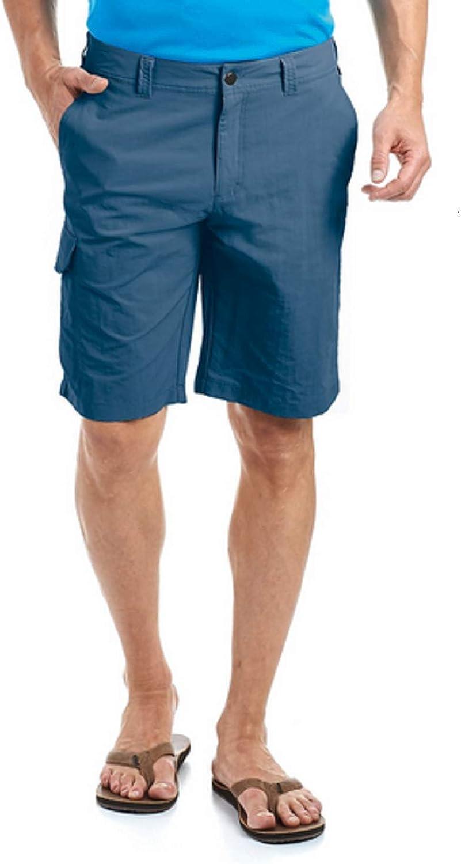 (52 (EU), Ensign blueee) - maier sports Main Men's Shorts, Men, 130004