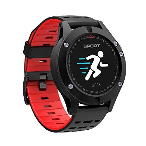 Reloj inteligente, Reloj deportivo con altímetro/ barómetro /termómetro y GPS incorporado, rastreador de fitness para correr, senderismo y escalada,reloj corriendo para hombres, mujeres y aventureros.