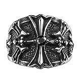 ZAKAKA 指輪 メンズ リング ファッション アクセサリー [ギフトボックスを提供] 17号 19号 21号 24号を提供 (21)