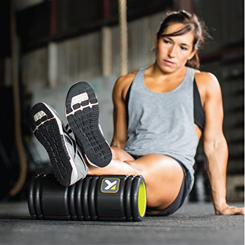 Trigger Point Foamroller Grid, Black, 33 x 14 cm, 3700006350013 - 6