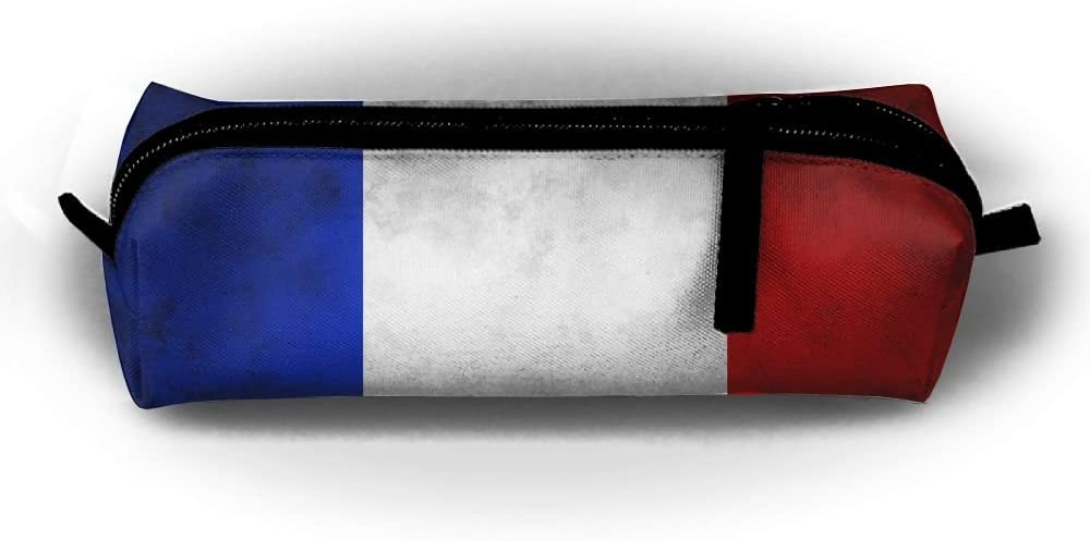 Old Striped France Flag Pen Pencil Stationery Bag Case Makeup Shipping included Tr 5 popular