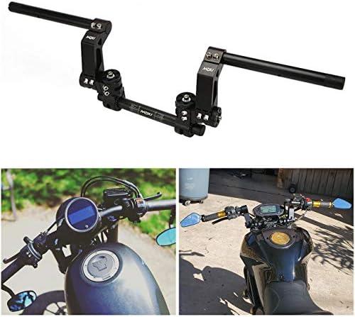 Adjustable motorcycle handlebars